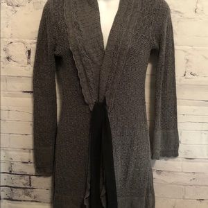 One A Cardigan Sweater soft Gray sz. S